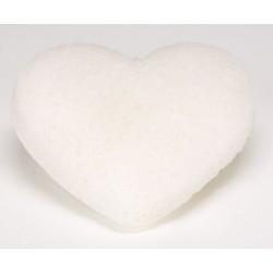 Eponge Konjac Coeur toutes peaux