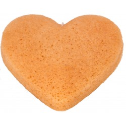 Konjac Sponge for Mature Skin heart shaped